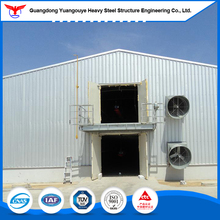Q235 Light Frame Steel Structure Prefab Broiler And Pig Farms Chicken House Shed Design Poultry Farm Construction