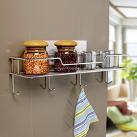 Fashion kitchen salt and pepper holder,wall mounted kitchen salt and spice pepper sauce rack