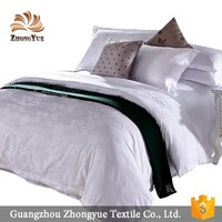 Classic cotton bedding set, jacquard bed sheet