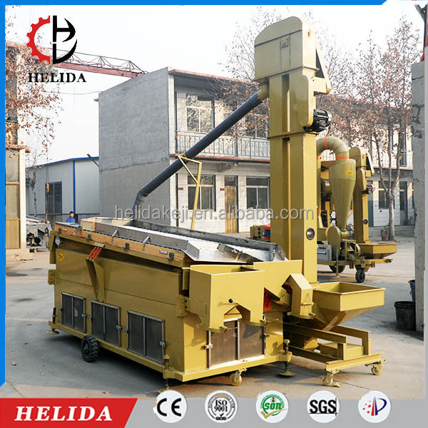 5XZ series Hemp Seed Gravity Separator Machines for Grain Cleaning and Grading