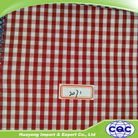 wholesale plaid shirt fabric for cloth,home textile,school uniform