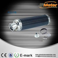 Motorcycle / scooter exhaust muffer, CNC Carbon Fibre for under 600CC
