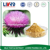 Natural Milk Thistle Powder with Silybum Silymarin 80% UV