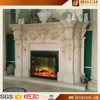 Customized Design Marble Fireplace Surrounding Wholesale in China