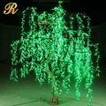 Outdoor led willow weeping tree for park decoration
