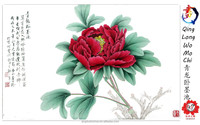 china manufacturer environmental protection flower oil painting on cheap canvas art