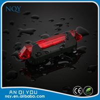 Factory usb rechargeable led bicycle tail light