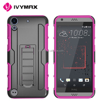 Original Design 3 in 1 Holster Combo Robot Mobile Phone Case for HTC530 HTC626