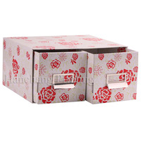 fancy flower cardboard DVD box
