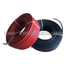 TUV approved,excellent resistance to abrasion,1x4.0mm2 solar cable