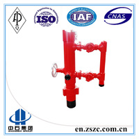 Single Plug casing Cement Head/API well drilling cementing tool/professional manufactory puyangzhongshi
