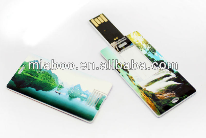 company gift business card usb, OEM plastic usb flash drive card, 2014 NEW Cheapest credit card style usb flash memory stick