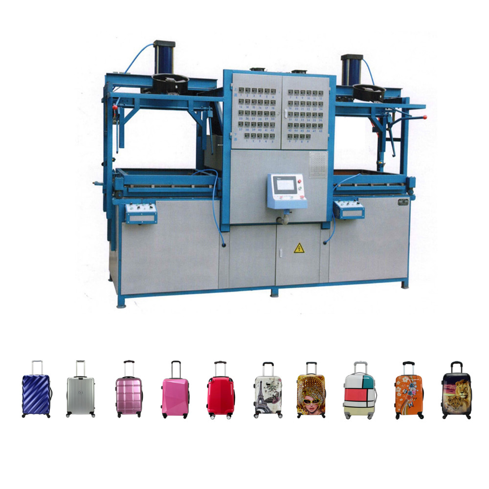 Plastic sheet PC ABS PP luggage Extruder Machinery, Suitcase Machine Manufacturer, Baggage case thermoforming Production Line