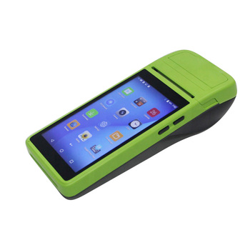 Capacitive touch screen handheld all in one pos terminal