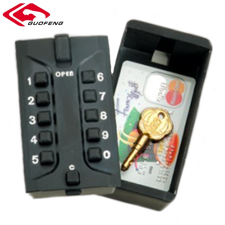 Zinc Alloy 4 Digit Key Storage Smart Combination Lock Box