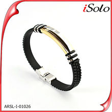 Steel bracelet 2014 shop accessories mens leather bracelet bisuteria 2014