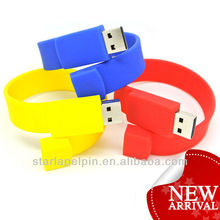 Colorful Cheap Custom Hospital Silicone Medical USB Driver bracelet