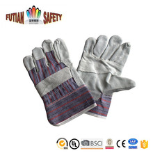 FTSAFETY natural palm cow split leather work and motorcycle gloves