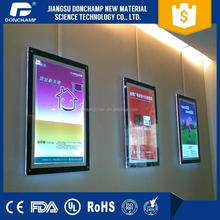 Led Window Display Board, Hanging Advertising Light Box, led backlight frame acrylic