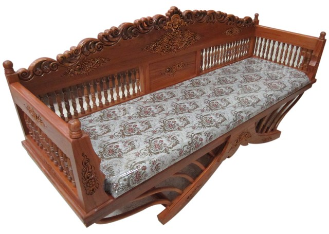 Teakwood Furniture THAI STYLE Bench(T) BNT45