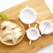 Hot Sale 3 Pcs/set White Plastic Mold of Dumpling Household Kitchen Food in stock wholesale