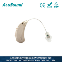 AcoSound Acomate 220 RIC Digital hearing aid BTE digital heaering aid programmers