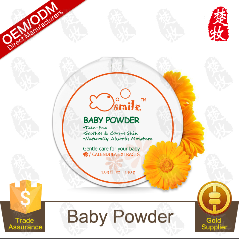 Wholesale Baby Powder, Pure Cornstarch, Calendula & Chamomile 140g