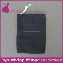 Custom cheap drawstring cotton net bags with cotton cord