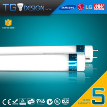 TUV approval Single End Power Supply 1500mm T8 LED Tube Light 30W Rotatable