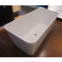 European style Actual Manufacturer Solid Surface vertical bathtub