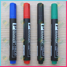 Wholesale cheap plastic permanent marker pen,multi-color permanent marker penJX-2005