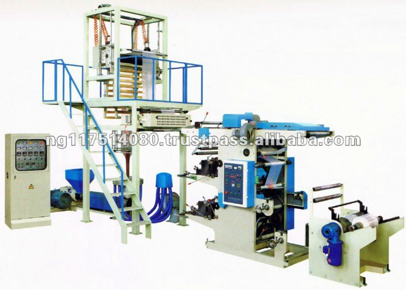 Nylon / Film Blowing Machine with Printing