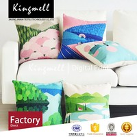 2015 fashion latest floral designs embroidery cool summer garden seat cushion cover