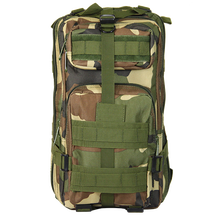 CAMOUFLAGE OUTDOOR CAMPING HIKING MOLLE 3P DURABLE MILITARY TACTICAL BACKPACK