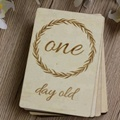 Wooden Baby Milestone Cards newborn baby items