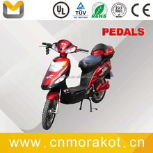 500W Electric scooter/2 wheel electric scooter/Electric bike with pedals --LS3