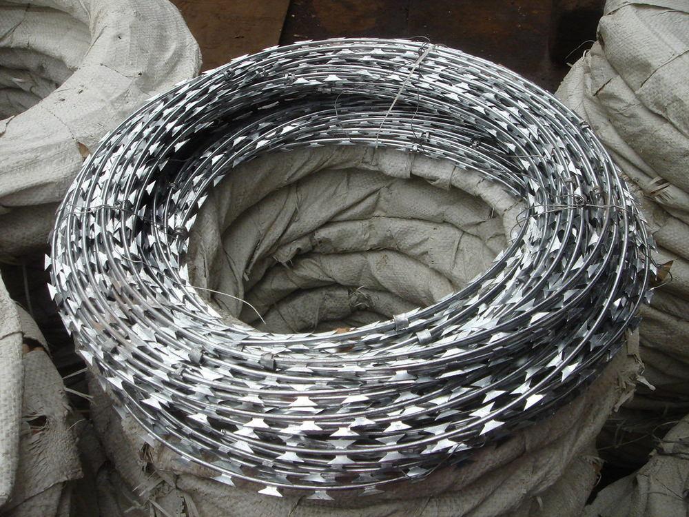 Bto-22 Razor Wire Cbt-65 Concertina Blade Wire Barbed Wire - Buy Bto ...