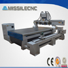 Jinan missile multi heads 4 axis 3d wood cnc router machinery