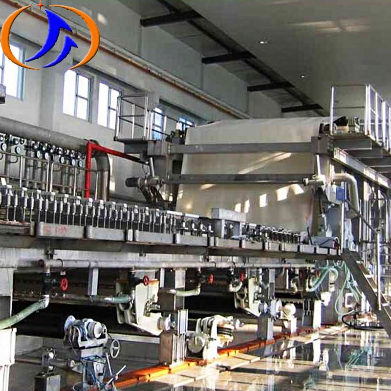 ZYDF1575A-4W3 waste paper recycled pulping production line fluting kraft corrugated paper machine