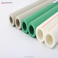 Building materials underground high strength white green grey colour din ppr pipe for hot water