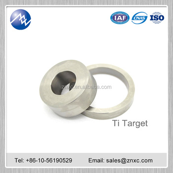 Factory price pure titanium sputtering target 99.99