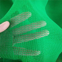 green color building use PE scaffolding net