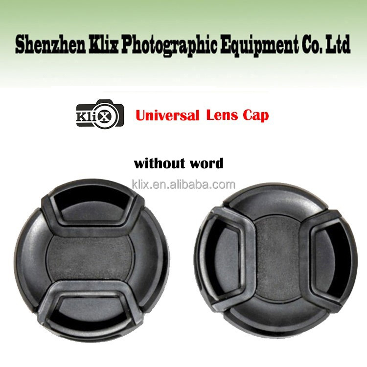 2015 new product snap-on universal camera lens cover cap for Nikon without word