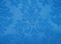 new design popular polyester embossed ruffle curtains fabric