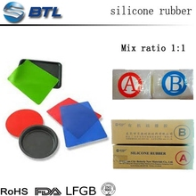 Density silicone rubber for sheet