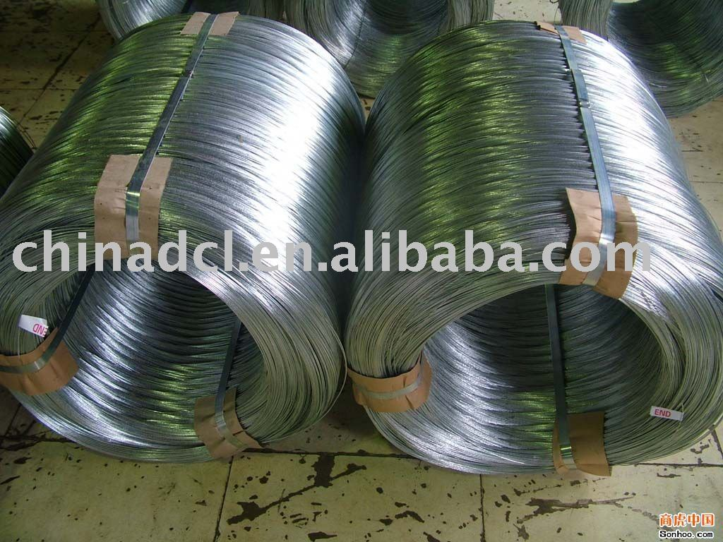 electro galanized binding iron wire