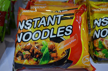 indomena beef instant noodle for asia