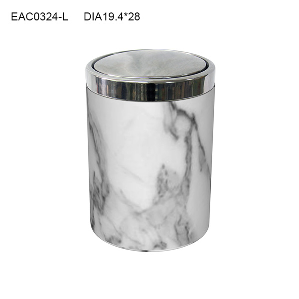 Designer Bathroom Bins modern bathroom design marble effect waste bin / trash can/ ash