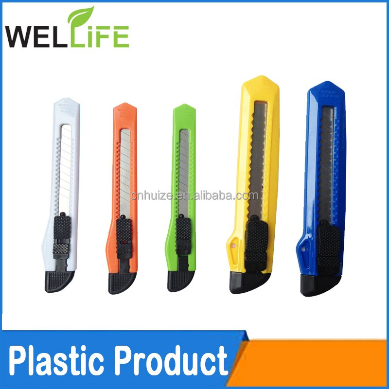 factory wholesales promotional gift multi size abs wallpaper scraper cutter knife