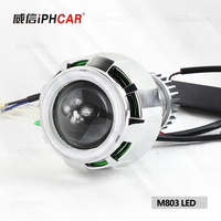 IPHCAR M803 2.0'' mini LED motor hid bi-xenon projector lens High Low Beam motorcycle projector headlight projector lens
